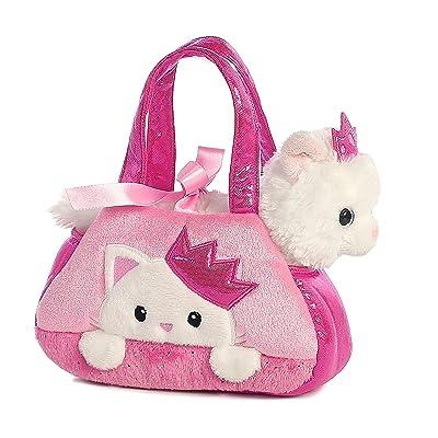 Aurora World Fancy Pals Pet Carrier, Peek-A-Boo Princess Kitty: Toys & Games