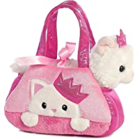 Aurora World Peek-A-Boo Princess Kitty Fancy Pals Pet Carrier