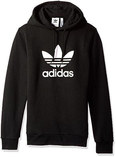 Amazon Com Adidas Originals Men S Trefoil Hoodie Clothing
