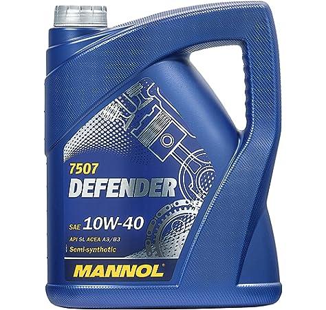 MANNOL 10256600500 Defender 10W40 SL/CF - Aceite ...