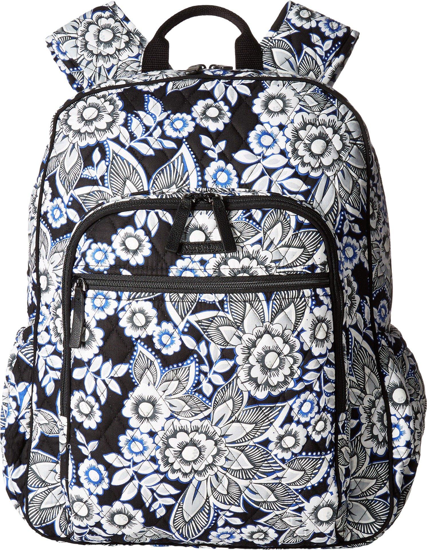 Vera Bradley Women's Campus Tech Backpack, Snow Lotus