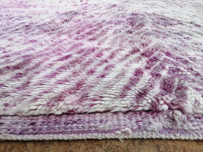 Beni Ourain Beni Mrirt Boho Rug SugaRugs Moroccan Handmade area rug Tribal Berber Shag Rug 8.3 FT X 12.2 FT 253 cm x 373 cm