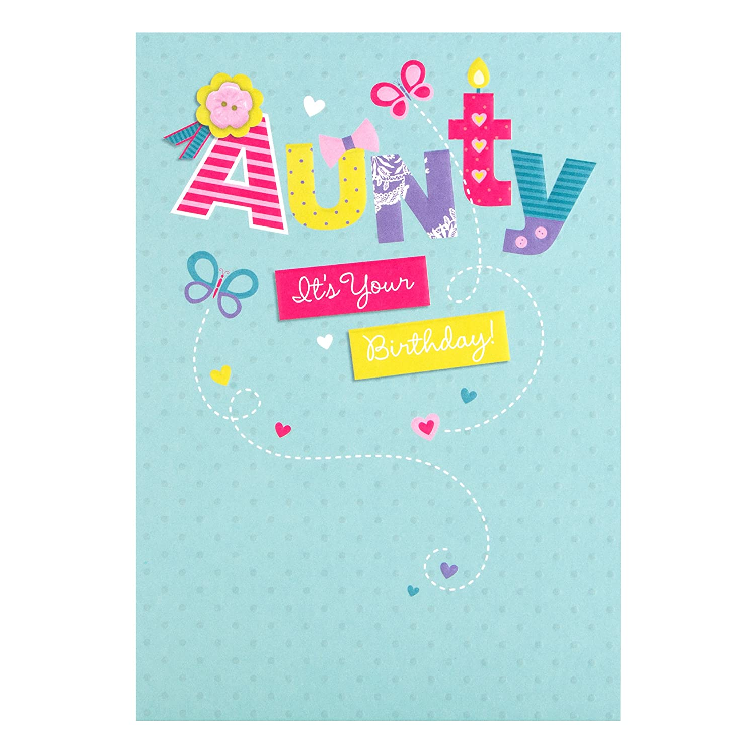 Hallmark Birthday Card For Aunty Have A Great Day