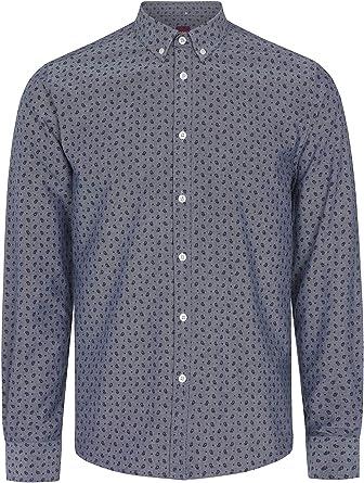 Merc - Camisa casual - Manga larga - para hombre: Amazon.es: Ropa y accesorios