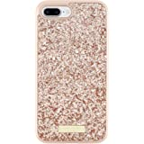 kate spade new york Glitter Case for iPhone 7 Plus - Exposed Glitter Rose Gold