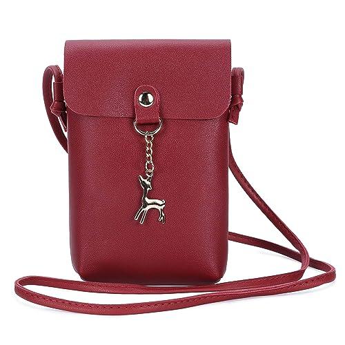 Amazon.com: BAIGIO - Bolsas para teléfono móvil para mujer ...