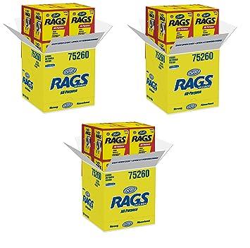 Scott Rags in A Box (75260), blanco, 200 toallas de la tienda