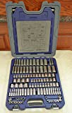 """Blue-Point General Service Socket Set BLPGSSC155, inches/mm, Combination 1/4"""" and 3/8"""" drive, 155 pcs"""