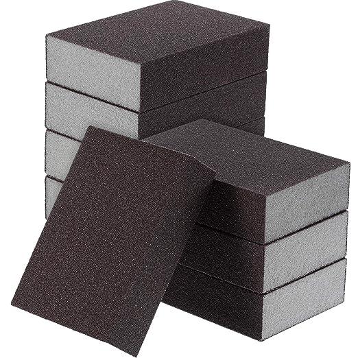 110x20x2mm, 5pcs Manwa Sanding Sponge Set #400