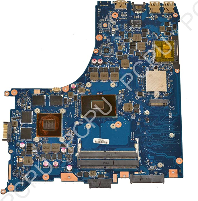 60NB09I0-MB3000 Asus GL552VW Laptop Motherboard w/Intel i7-6700HQ 2.6Ghz CPU