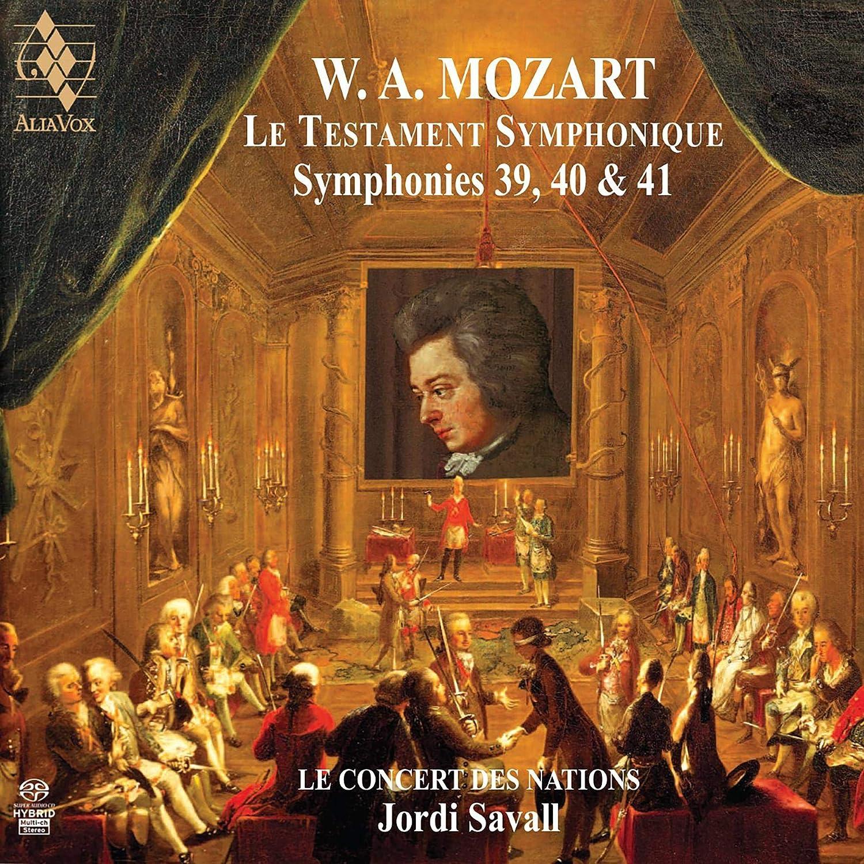 Jordi Savall - Mozart: Symphonies No.39, 40 & 41 - Amazon.com Music