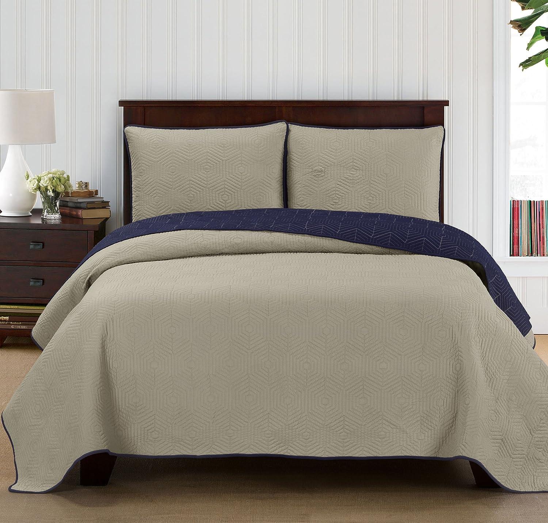 Brielle Honeycomb, 6 x 18 Bolster Pillow, Grey/Navy 807000223039