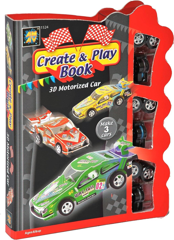 Diamant Create and Play Book - Juego de construcción de coche motorizado (instrucciones en inglés) , color/modelo surtido: Amazon.es: Juguetes y juegos