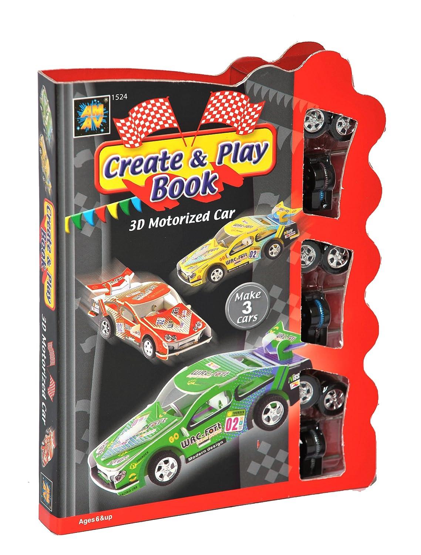 Diamant Create and Play Book - Juego de construcción de coche ...