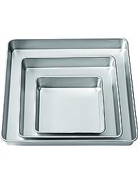 square rectangular home kitchen square cake pans rectangular cake pans more. Black Bedroom Furniture Sets. Home Design Ideas