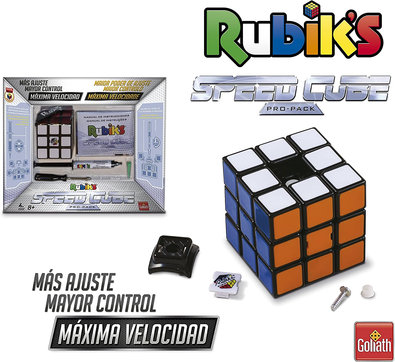Goliath - Cubo de Rubik 3x3 PROFESIONAL, 6 Colores (72140): Amazon ...