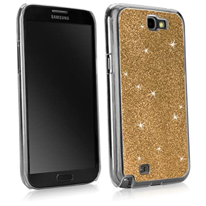 more photos e9909 e3c11 BoxWave Glitter Samsung Galaxy Note 3 Case Slim-Fit back Cover case with  Glitter Sparkle Design - Samsung Galaxy Note 3 Cases (Glam Gold)