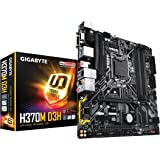 GIGABYTE H370M D3H (LGA1151/Intel/Micro ATX/2-Way Crossfire/DDR4/USB 3.1 Gen 2 (USB3.1) Type A/M.2/Motherboard)