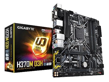 GIGABYTE H370M D3H (LGA1151/Intel/Micro ATX/2-Way Crossfire/DDR4/USB 3 1  Gen 2 (USB3 1) Type A/M 2/Motherboard)