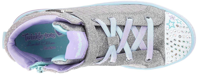 K Skechers Kids Kids Shuffles-Twinkle Charm Sneaker SHUFFLES-TWINKLE CHARM
