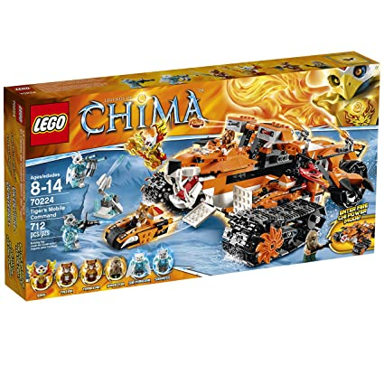 LEGO Chima Tiger's Mobile Command Block - 70224, Building