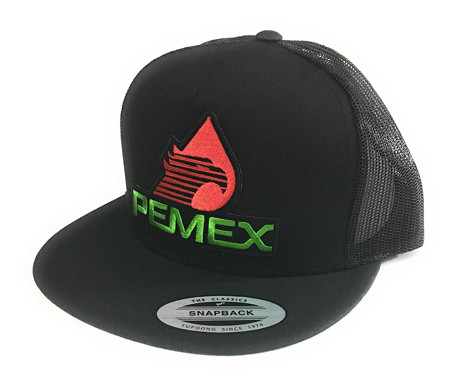 5d66d92dbe717 PEMEX HAT. GORRA FEDERAL MEXICO. SNAP BACK.  Amazon.co.uk  Sports   Outdoors