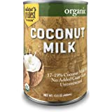 Nature's Greatest Foods, Organic Coconut Milk, No Guar Gum, Unsweetened, 13.5 Ounce (Pack of 12)