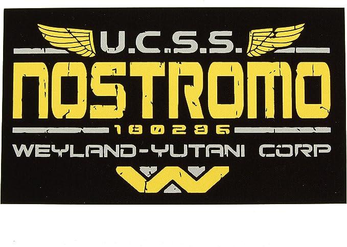 Nostromo Weyland Yutani Corp Alien 3 Aliens Wandaufkleber Sticker Vinyl 2 Stück Auto