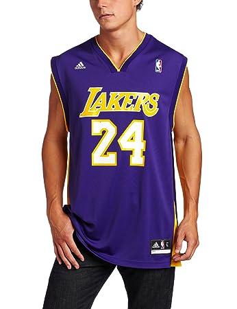 d21fc7482 adidas Men s NBA Replica Basketball Jersey Kobe Bryant Multi-Coloured multi-coloured  Size