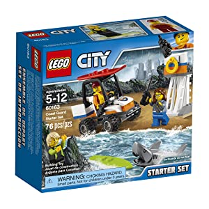 LEGO City Coast Guard Coast Guard Starter Set 60163 Building Kit (76 Piece)