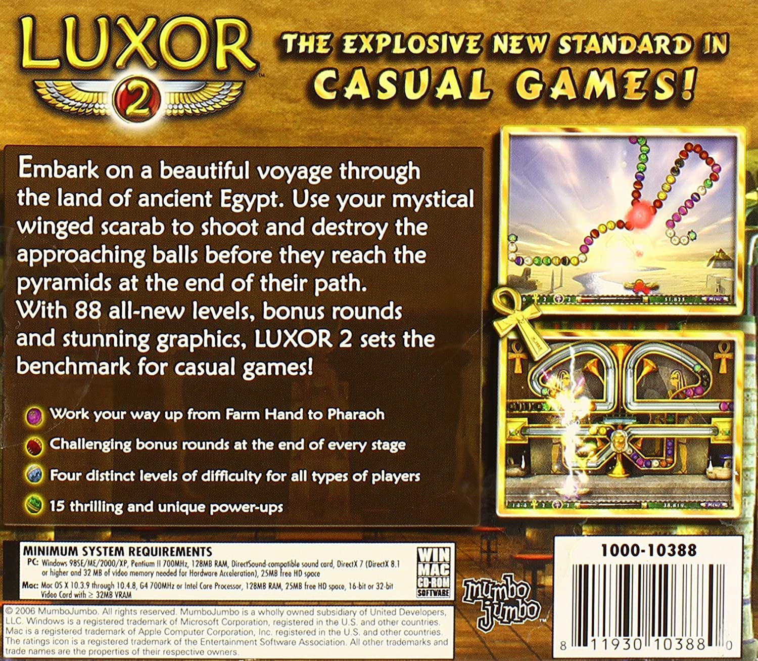 Amazon com: Luxor 2 - PC: Video Games