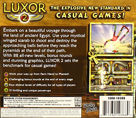 ключ к игре луксор 3