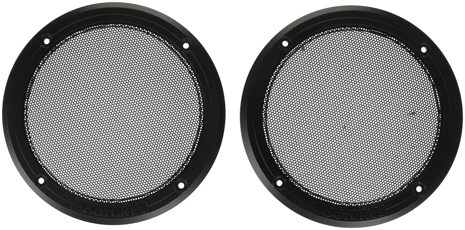 Hogtunes RM Replacement Rear Speaker Grilles for 2014-2016 Harley-Davidson Ultra Touring Models