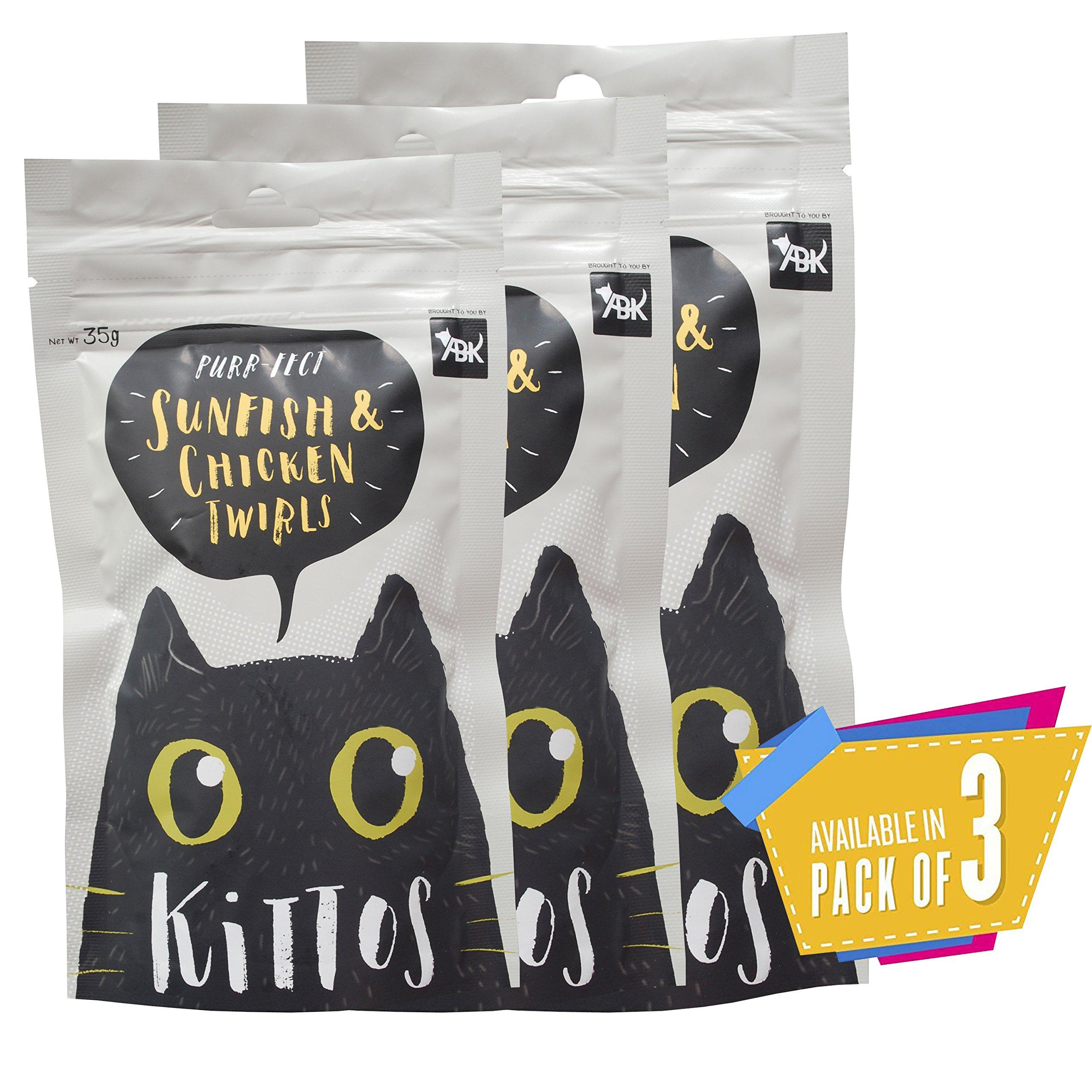 Kittos Sunfish and Chicken Twirls, 35 g (Pack of 3) (B079QGFRG4) Amazon Price History, Amazon Price Tracker