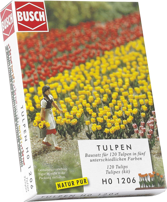 Busch 1206 Tulips 120// HO Scenery Scale Model Scenery