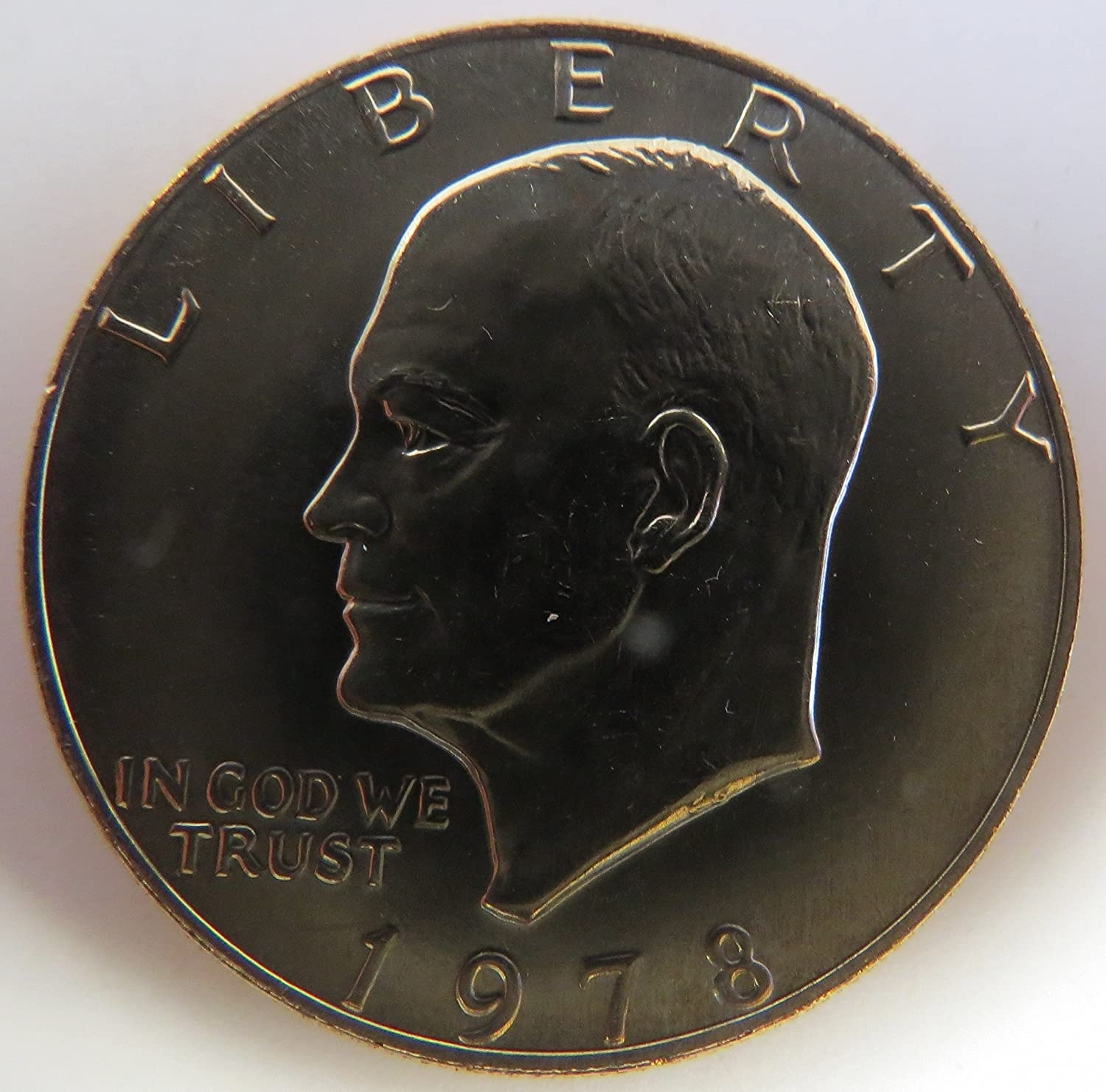 """1978 D Eisenhower Dollar /""""About Uncirculated/"""" US Mint Coin IKE"""