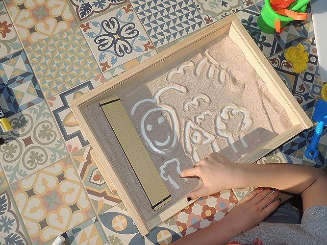 ARENERO-PIZARRA Montessori: Amazon.es: Handmade