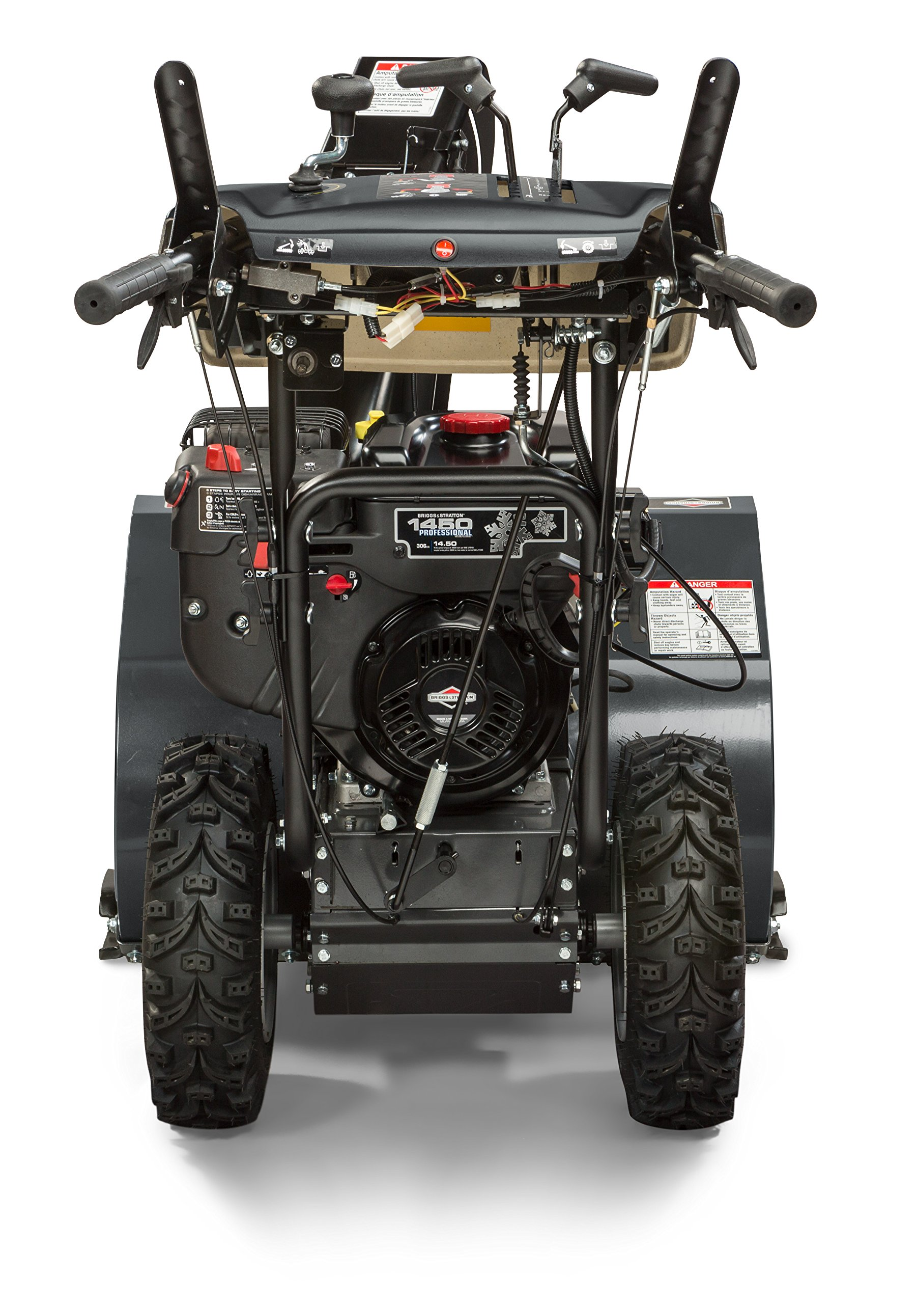 Briggs & Stratton 1530MDS Dual Stage Snowthrower Snow Thrower, 306cc by Briggs & Stratton (Image #2)