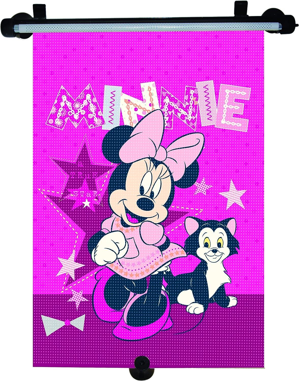 Minnie Mouse Misaa112 Sonnenschutzrollo Pink Auto