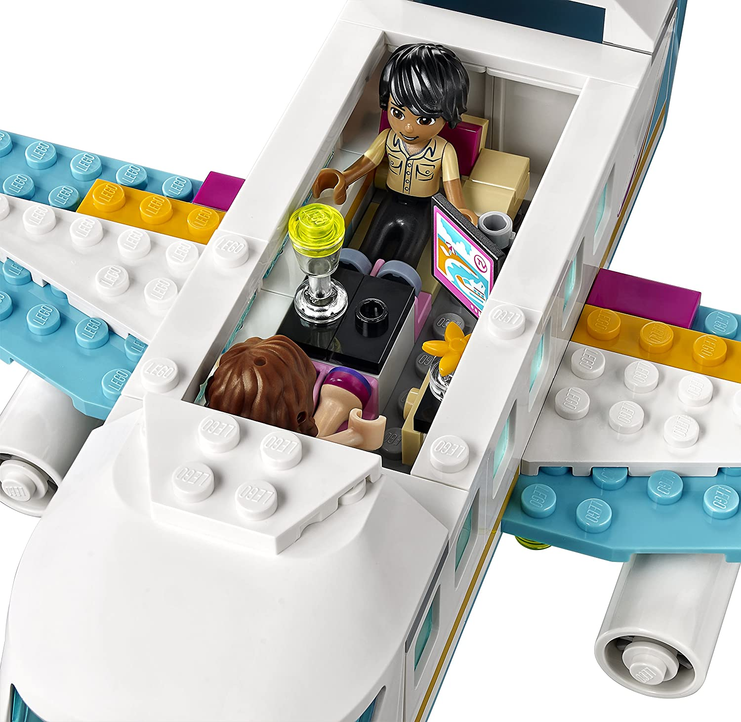 Lego friends heartlake grand hotel 41101 lego friends uk - Heartlake Private Jet Lego Friends Set 41100 Amazon Co Uk Toys Games