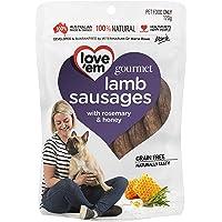 love'em Gourmet Lamb Sausages 120g, 1 Pack