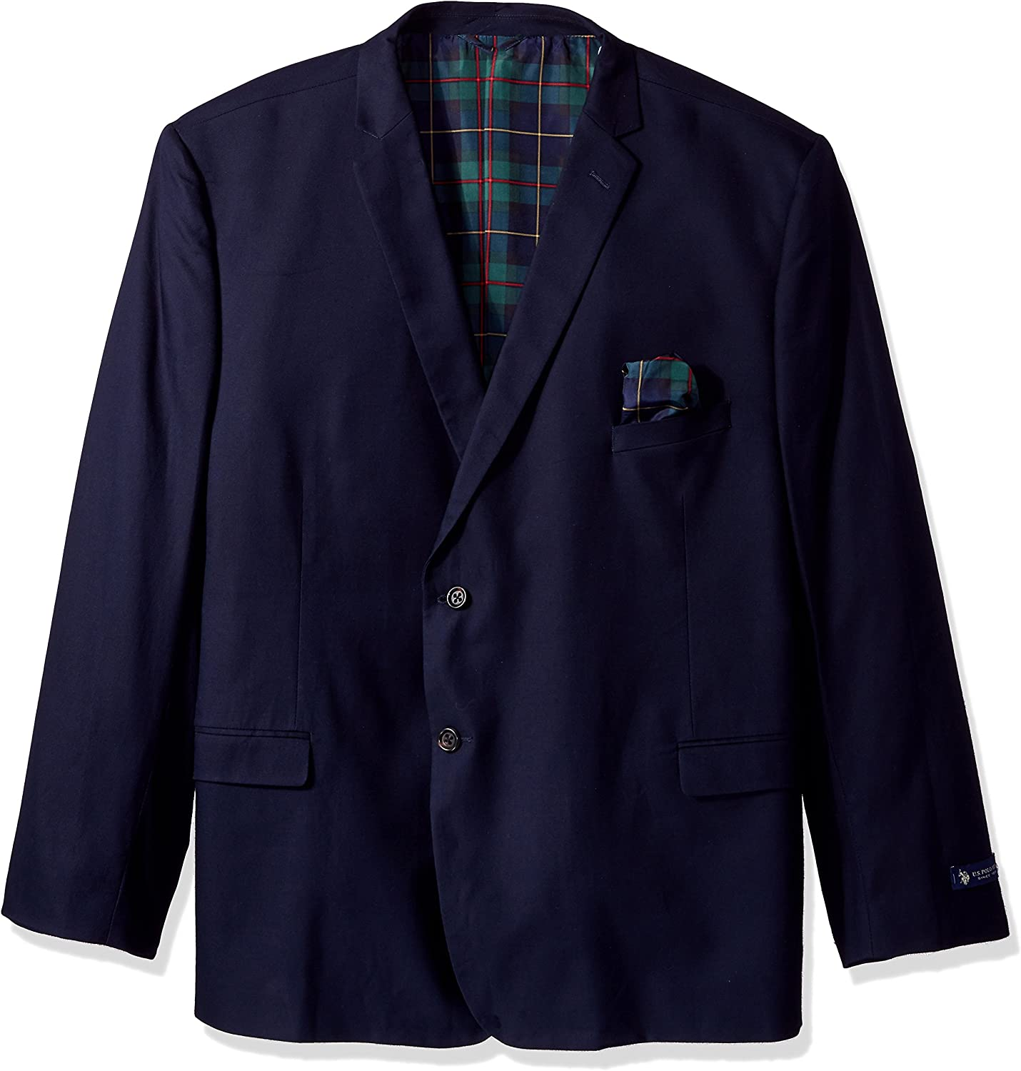 U.S. Polo Assn. Men's Big and Tall Cotton Sport Coat