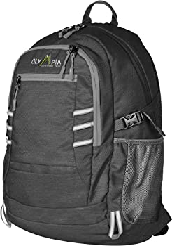 Olympia Woodsman 19 Inch USB Laptop Backpack