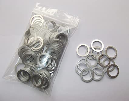 100 Stück Aluminium Dichtringe 14x20x1,5 mm M 14