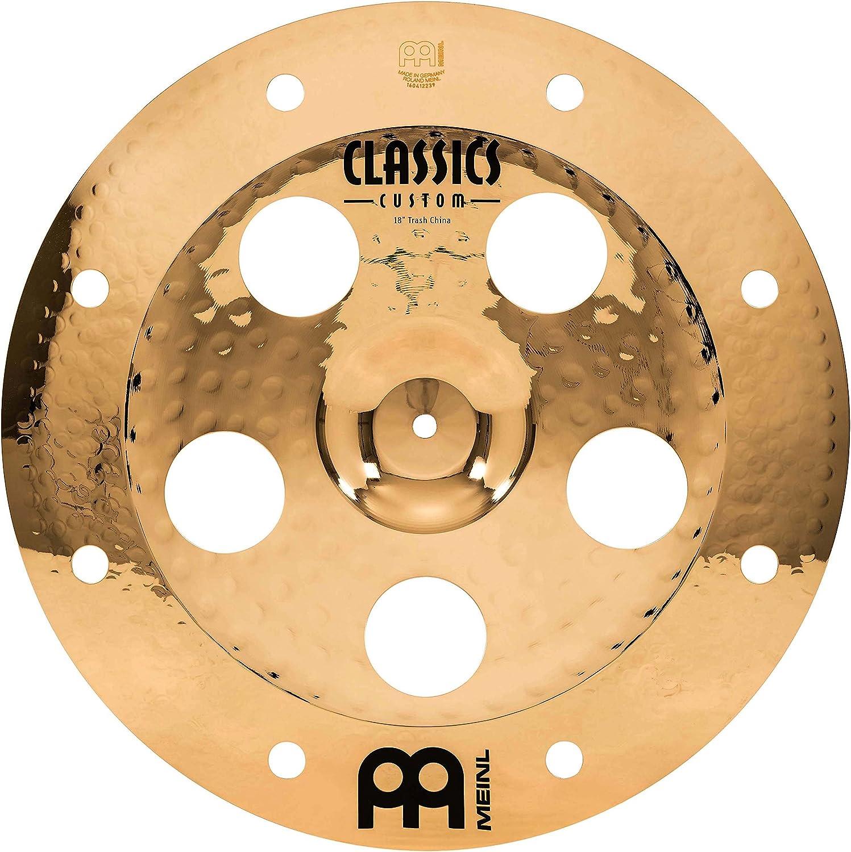 Meinl Cymbals CC18TRCH-B Classics Custom 18-Inch  Brilliant Trash China
