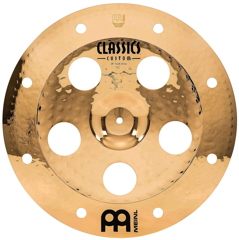 Meinl Cymbals CC18TRCH-B Classics Custom 18-Inch Brilliant Trash China (VIDEO) Meinl USA L.C.