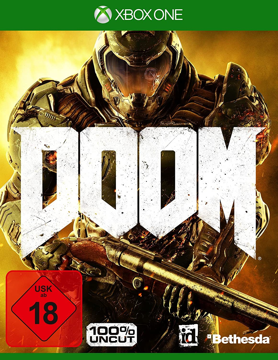 DOOM - 100% Uncut - Day One Edition - Xbox One [Importación ...