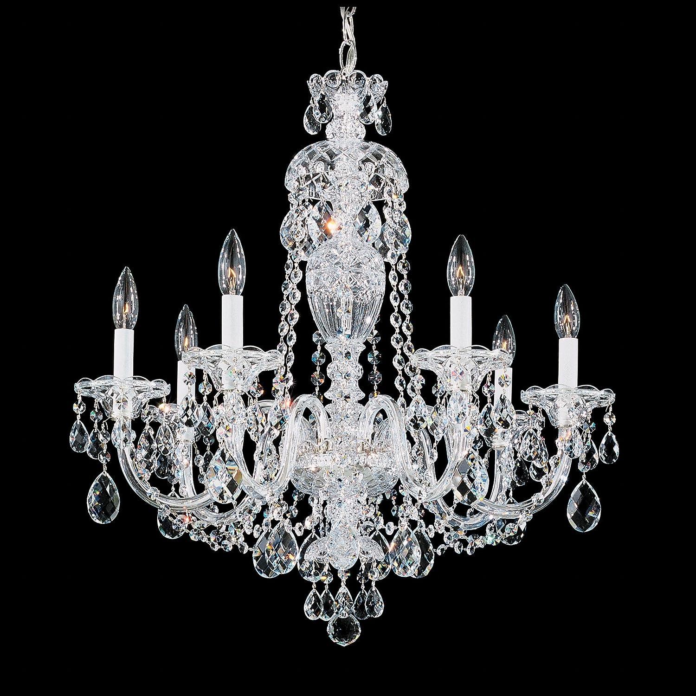 Schonbek 2995 40a swarovski lighting sterling chandelier silver schonbek 2995 40a swarovski lighting sterling chandelier silver amazon arubaitofo Gallery