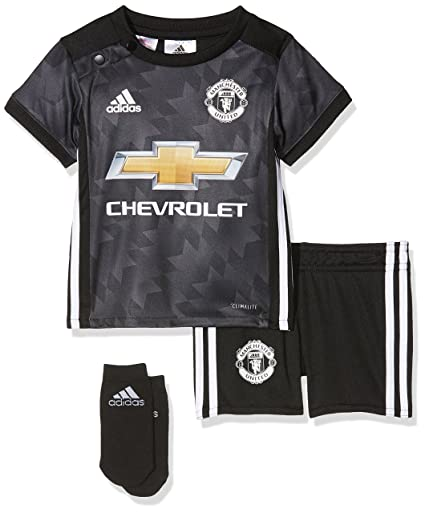 quality design ffa11 9a723 Amazon.com : adidas Manchester United Baby Away Kit 2017/18 ...