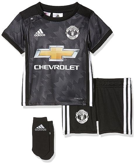 Amazon.com   adidas Manchester United Baby Away Kit 2017 18-6-9 ... 724c751ec